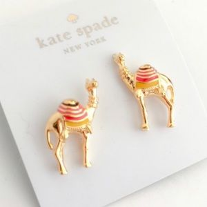 🌿Kate Spade Spice Things Up Camel Earrings-NWT🌿